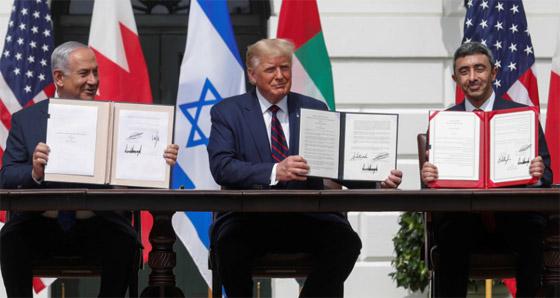 رسميا.. الإمارات والبحرين توقعان معاهدة السلام التاريخية مع إسرائيل صورة رقم 17