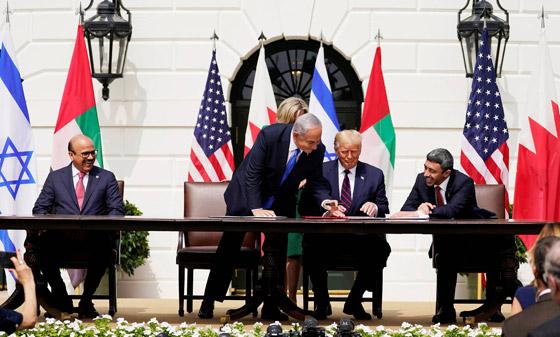 رسميا.. الإمارات والبحرين توقعان معاهدة السلام التاريخية مع إسرائيل صورة رقم 14