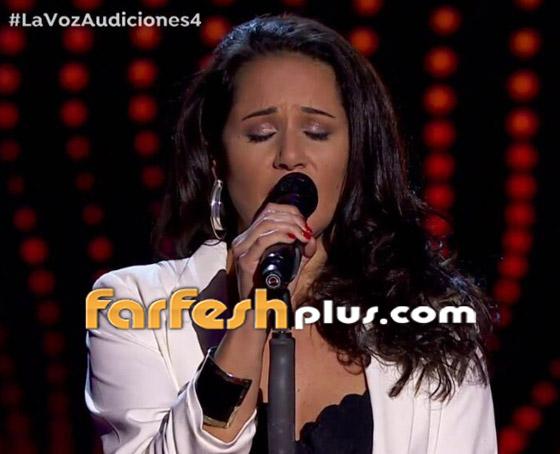 صورة رقم 2 - مغنية لبنانية تتأه ل في ذا فويس إسبانيا: فيديو سيفين بأغنيتها العربية وفي المسابقة
