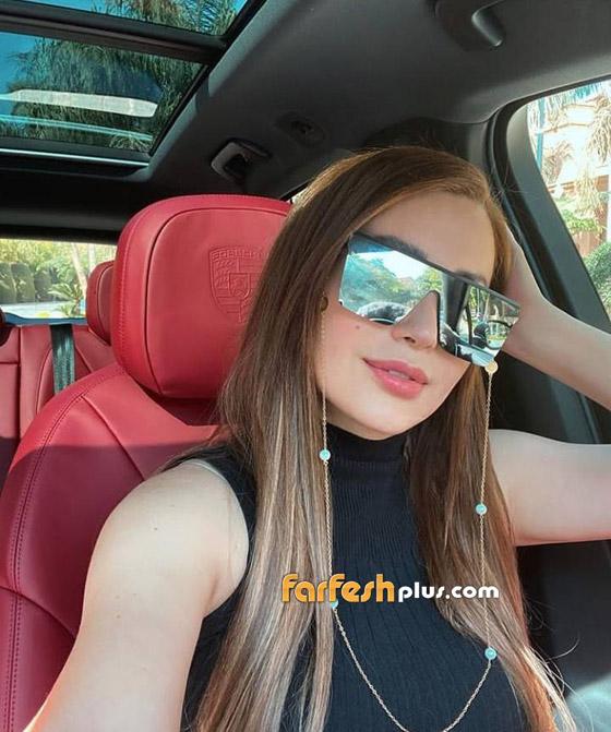 صور: نسرين طافش تستعرض سيارتها الفيراري الفارهة وتتعرض للانتقادات! صورة رقم 2