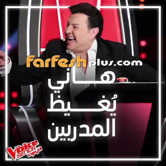 صورة رقم 6 - ذا فويس سينيور: نجوى كرم تتمسك بسعادة وهاني شاكر يغني لمرفت