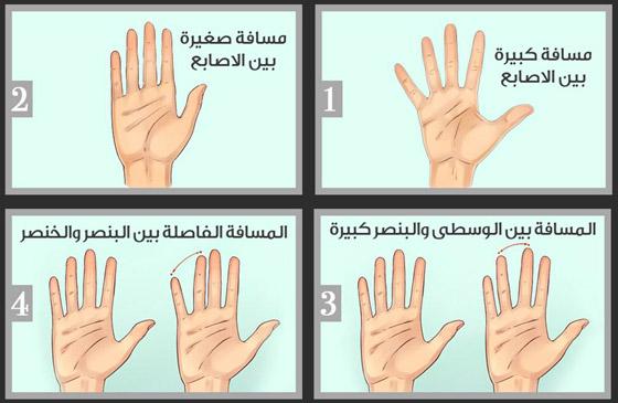 صورة رقم 5 - اختبار شخصية: اكتشفوا ما تقوله المسافة الفاصلة بين أصابع يديكم عنكم
