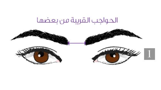 صورة رقم 1 - هذا ما تعنيه المسافة بين حاجبيك وشكلهما وعلاقتهما بشخصيتك!