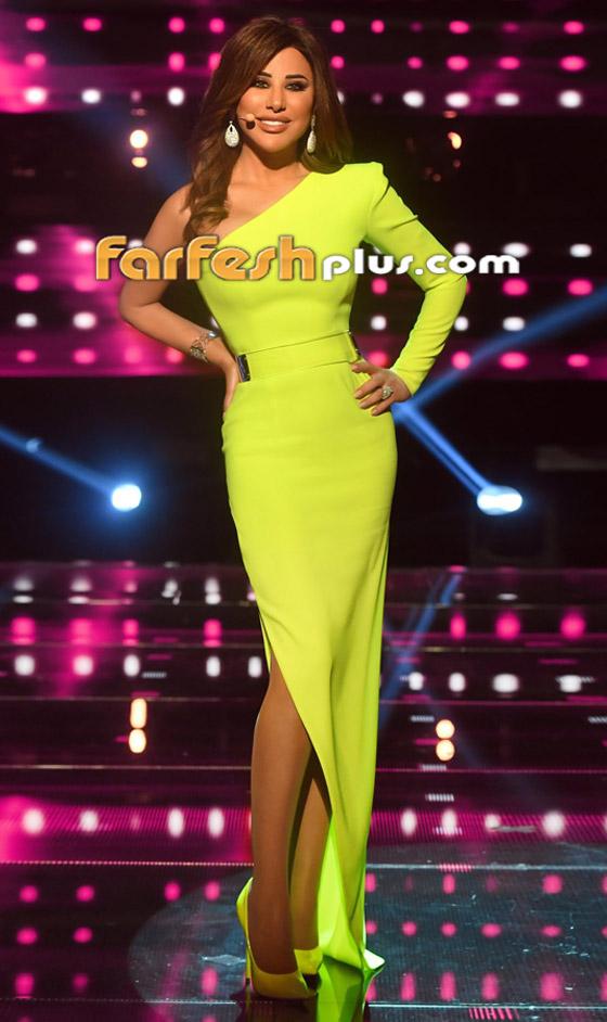صورة رقم 1 - بالصور: نجوى كرم بإطلالة مبهرة في ذا فويس سينيور.. وهذا سعر فستانها