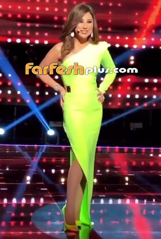 صورة رقم 8 - بالصور: نجوى كرم بإطلالة مبهرة في ذا فويس سينيور.. وهذا سعر فستانها