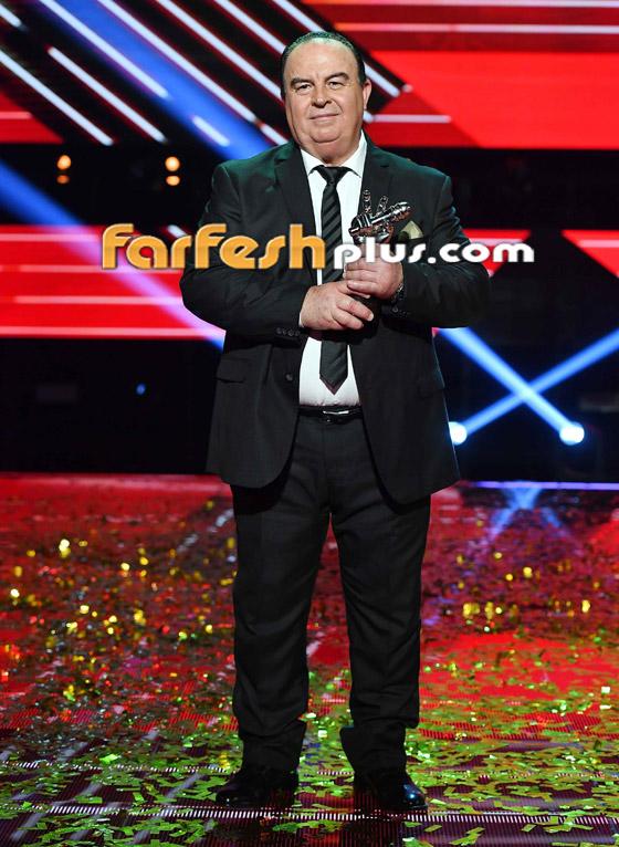 صورة رقم 9 - اللبناني عبدو ياغي يفوز بامتياز بلقب ذا فويس سينيور.. وملحم زين يهنئه
