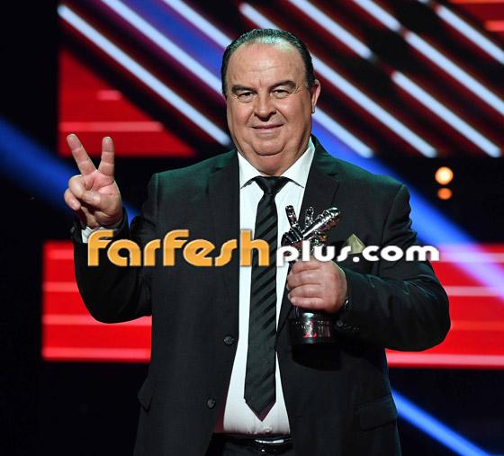 صورة رقم 3 - اللبناني عبدو ياغي يفوز بامتياز بلقب ذا فويس سينيور.. وملحم زين يهنئه