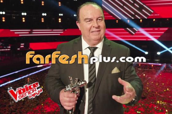 صورة رقم 20 - اللبناني عبدو ياغي يفوز بامتياز بلقب ذا فويس سينيور.. وملحم زين يهنئه