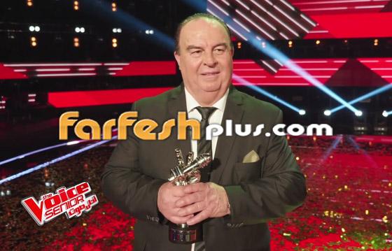 صورة رقم 5 - اللبناني عبدو ياغي يفوز بامتياز بلقب ذا فويس سينيور.. وملحم زين يهنئه