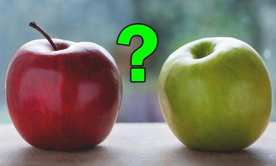 أيهما أفضل لصحة الجسم؟ التفاح الأخضر أم التفاح الأحمر؟ صورة رقم 1
