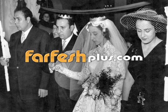 صورة نادرة لجارة القمر فيروز من حفل زفافها بالتزامن مع عيد ميلادها صورة رقم 2