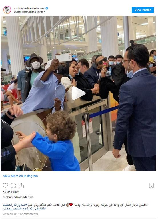 هكذا دافع محمد رمضان عن نفسه بعد صورته مع فنان اسرائيلي في دبي! صورة رقم 1