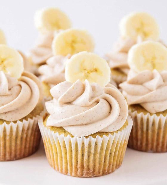 صورة رقم 2 - أنقذوا الموز الناضج من مصير مؤسف.. إليكم وصفة كاب كيك الموز الشهية