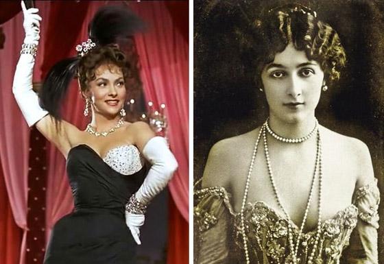 صورة رقم 2 - كيف كانت تبدو النساء الأيقونيات اللواتي رأيناهن في الأفلام على أرض الواقع؟