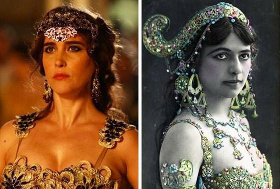 صورة رقم 6 - كيف كانت تبدو النساء الأيقونيات اللواتي رأيناهن في الأفلام على أرض الواقع؟