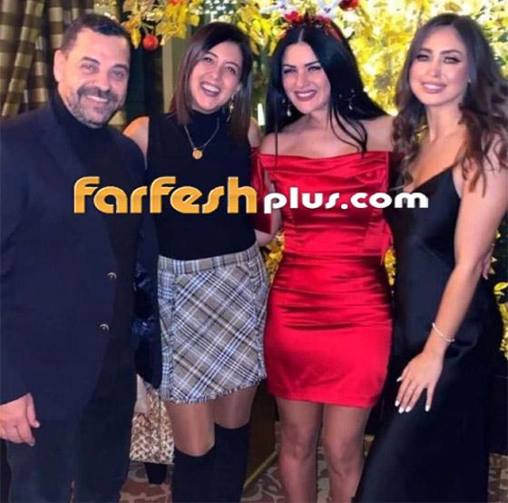 صورة رقم 9 - فيديو وصور: نيكول سعفان ترد على زواج أصالة بالاحتفال مع طارق العريان