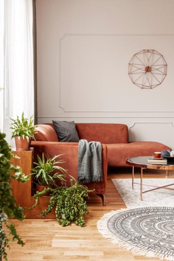 صورة رقم 2 - ديكورات غرفة الجلوس المودرن في الشتاء