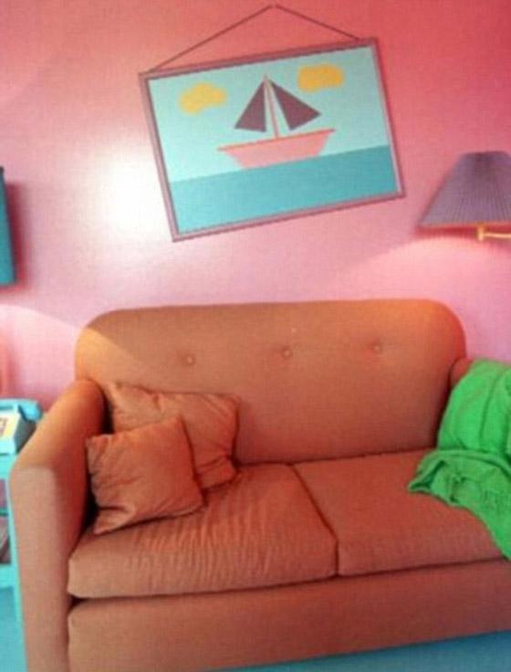 صورة رقم 4 - تصميم منزل مماثل لمنزل مسلسل سيمبسون