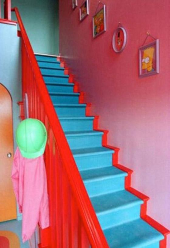 صورة رقم 6 - تصميم منزل مماثل لمنزل مسلسل سيمبسون
