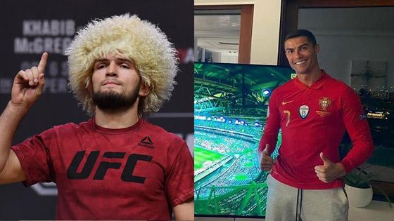 صورة رقم 1 - حبيب نور محمدوف يعترف: تواصلت مع رونالدو لأصبح لاعب كرة قدم