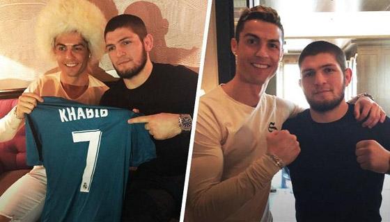 صورة رقم 2 - حبيب نور محمدوف يعترف: تواصلت مع رونالدو لأصبح لاعب كرة قدم