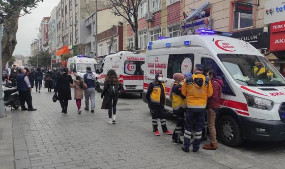 صورة رقم 1 - فيديو مؤثر لامرأة تركية تلقي أطفالها من النافذة لإنقاذهم من حريق بالمنزل