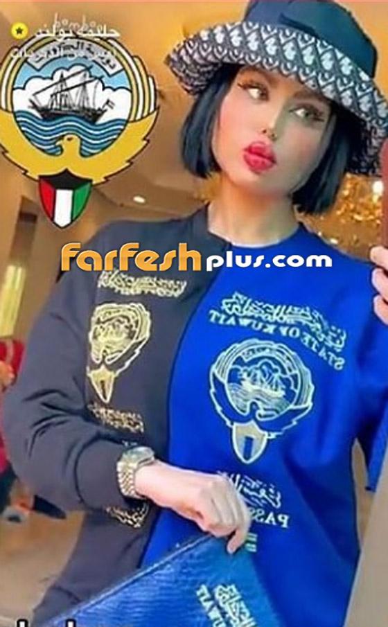 صورة رقم 3 - حليمة بولند ترتدي جواز السفر الكويتي.. والجمهور: الكويت أكبر!