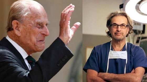 صورة رقم 1 - جراح أردني الأصل بين فريق يعالج الأمير فيليب بالمستشفى