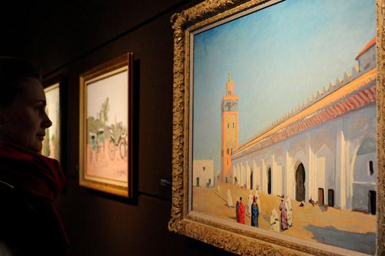 صورة رقم 4 - لوحة رسمها تشرشل لمسجد بالمغرب تباع بـ9.7 مليون دولار