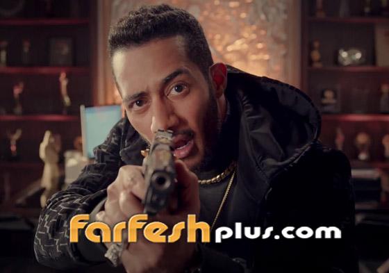 صورة رقم 7 - مسدس وجوكر وحيوانات مفترسة في كليب (أنا البطل) واتهام محمد رمضان بالسرقة!!