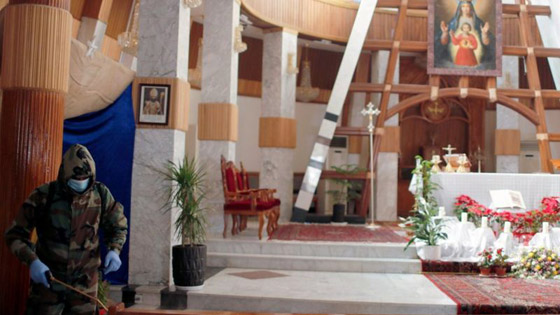 صورة رقم 17 - فيديو وصور: بابا الفاتيكان فرنسيس يصل إلى العراق في زيارة تاريخية