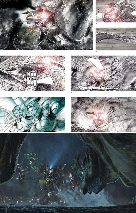 صورة رقم 22 - رسومات لأفلام شهيرة تكشف كيف تبدو قبل إنتاجها وتصويرها في الواقع
