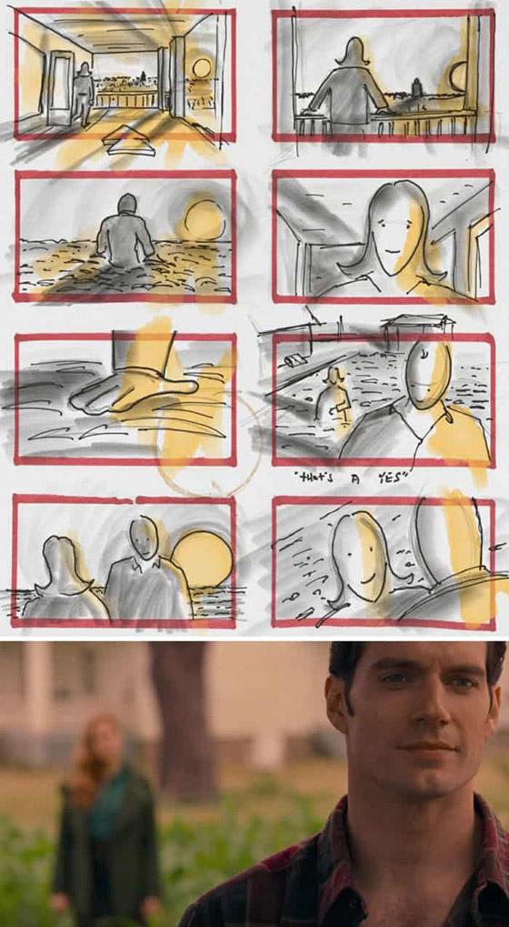 صورة رقم 23 - رسومات لأفلام شهيرة تكشف كيف تبدو قبل إنتاجها وتصويرها في الواقع