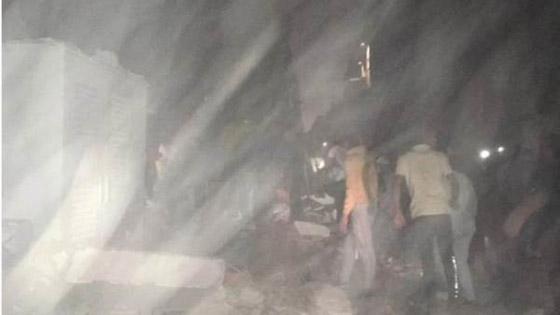 صورة رقم 4 - بالفيديو والصور.. انهيار عقار من 10 طوابق في القاهرة