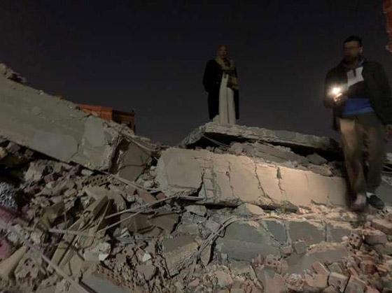 صورة رقم 5 - بالفيديو والصور.. انهيار عقار من 10 طوابق في القاهرة