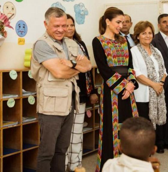 صورة رقم 24 - الثوب الأردني التقليدي على الملكة رانيا: التراث الأصيل في أبهى صوره
