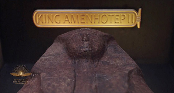 صورة رقم 28 - الرحلة الذهبية: مشهد تاريخي لنقل المومياوات المصرية الملكية بموكب مهيب