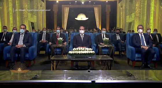 صورة رقم 29 - الرحلة الذهبية: مشهد تاريخي لنقل المومياوات المصرية الملكية بموكب مهيب