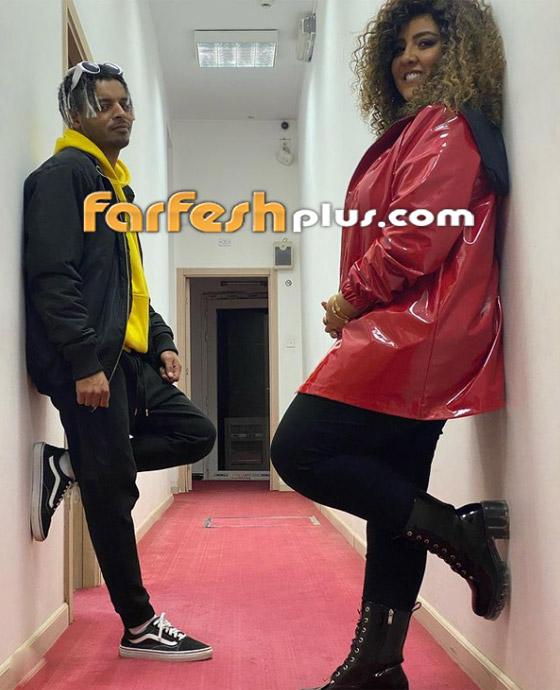 صور مي كساب مع أوكا تصدم جمهورها بزيادة وزن كبيرة وتؤكد: مش حامل! صورة رقم 4