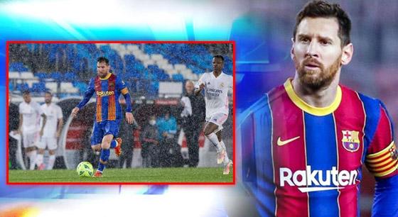 صورة رقم 5 - انظر إلى ميسي وهو يرتجف أثناء المباراة مع ريال مدريد