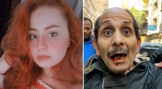صورة رقم 1 - فيديو: فتاة مصرية (جدعة) تلكم متحرش وتسقط بعض أسنانه.. كل الاحترام