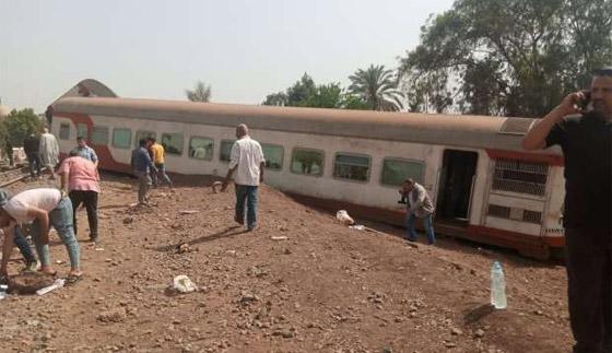 صورة رقم 6 - حادث قطار طوخ: 11 قتلى و100 جرحى بثالث حادث قطارات في مصر خلال شهر