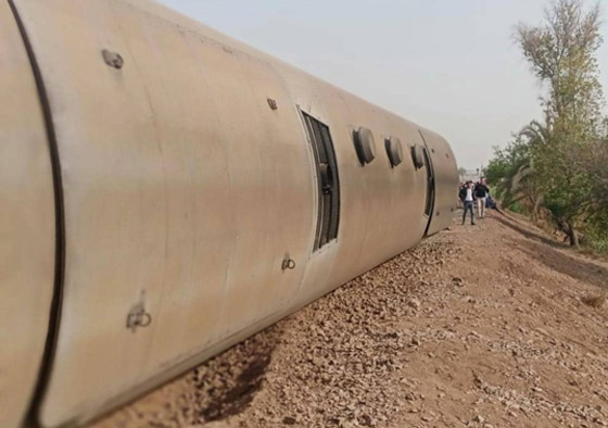 صورة رقم 11 - حادث قطار طوخ: 11 قتلى و100 جرحى بثالث حادث قطارات في مصر خلال شهر