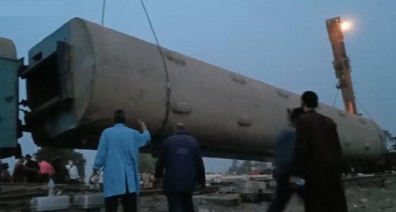 صورة رقم 12 - حادث قطار طوخ: 11 قتلى و100 جرحى بثالث حادث قطارات في مصر خلال شهر