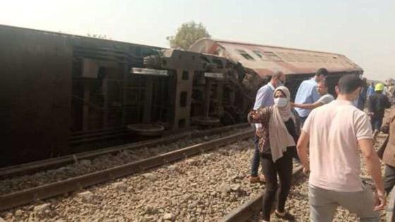 صورة رقم 14 - حادث قطار طوخ: 11 قتلى و100 جرحى بثالث حادث قطارات في مصر خلال شهر