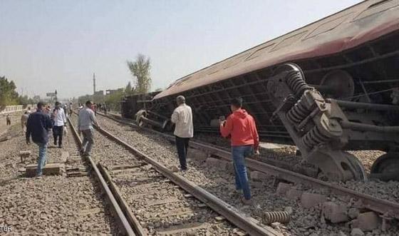 صورة رقم 16 - حادث قطار طوخ: 11 قتلى و100 جرحى بثالث حادث قطارات في مصر خلال شهر