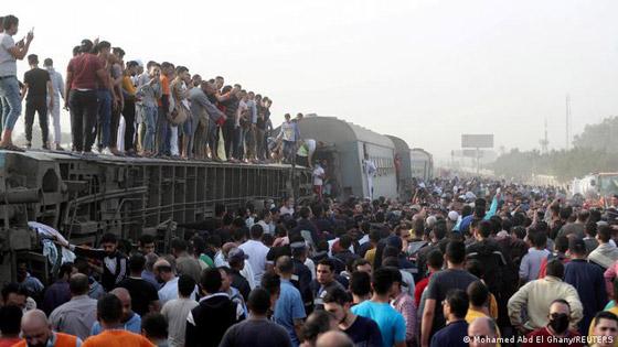 صورة رقم 1 - القطارات في مصر ـ مشكلات مزمنة وحوادث مأساوية متكررة