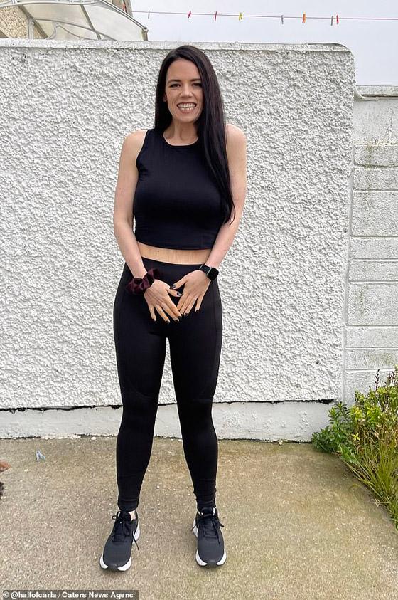 صورة رقم 6 - بريطانية تخسر اكثر من نصف وزنها بعام واحد! من 147 لـ 63 كغم! ما سر الريجيم الذي قامت به؟