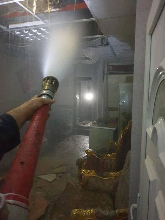 صورة رقم 7 - 27 وفاة على الأقل جراء حريق بمستشفى لمرضى كورونا في بغداد