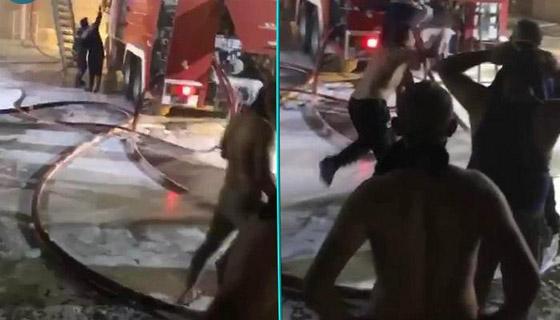 صورة رقم 4 - 27 وفاة على الأقل جراء حريق بمستشفى لمرضى كورونا في بغداد